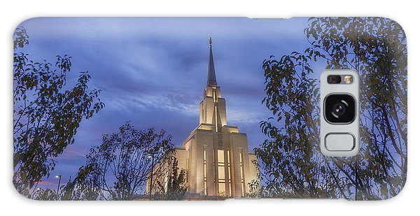 Temple Galaxy Case - Oquirrh Mountain Temple II by Chad Dutson