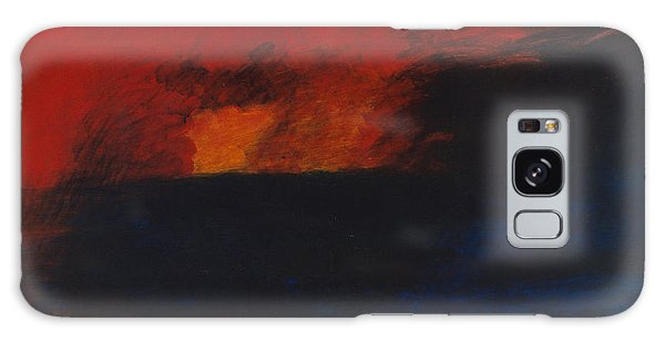 Orange 1985 Galaxy Case