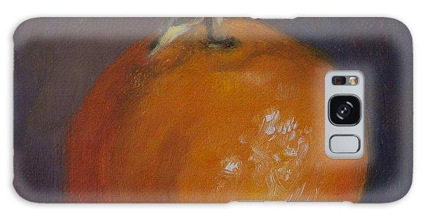 Orange And Plump Galaxy Case by Debbie Lamey-MacDonald