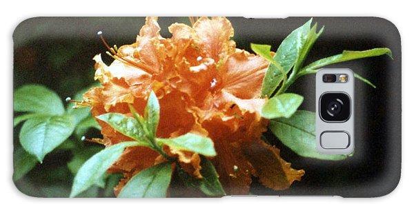 Orange Azalea Galaxy Case
