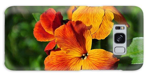 Orange Beauty Galaxy Case
