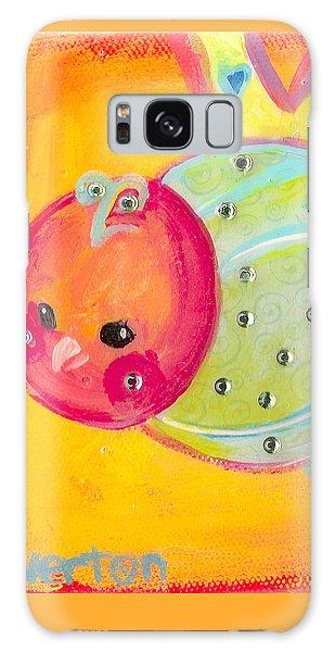 Orange Birdy Galaxy Case