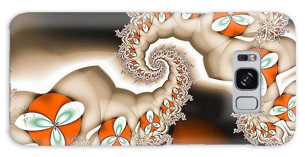 Orange Blossom Galaxy Case