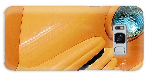 Orange Car Galaxy Case