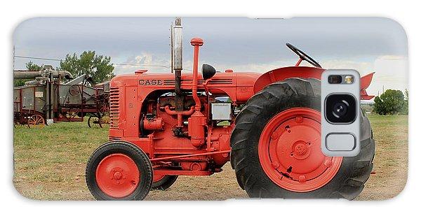 Orange Case Tractor Galaxy Case