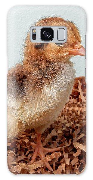 Orange Chick Galaxy Case