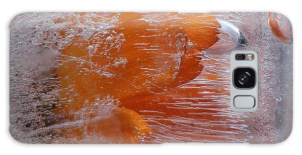 Orange Flower Galaxy Case by Randi Grace Nilsberg