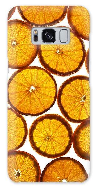 Orange Fresh Galaxy Case by Vitaliy Gladkiy