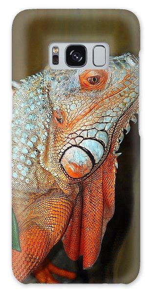 Orange Iguana Galaxy Case