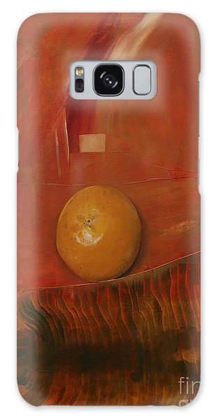 Orange Galaxy Case