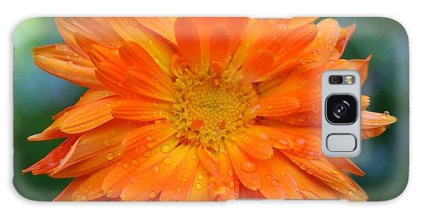 Orange Juice Galaxy Case