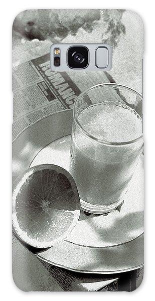 Orange Juice Romance Galaxy Case