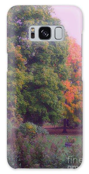 Orange Leaves - Monet Galaxy Case