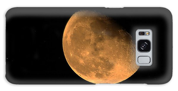 Orange Moon Galaxy Case by Richard Stephen