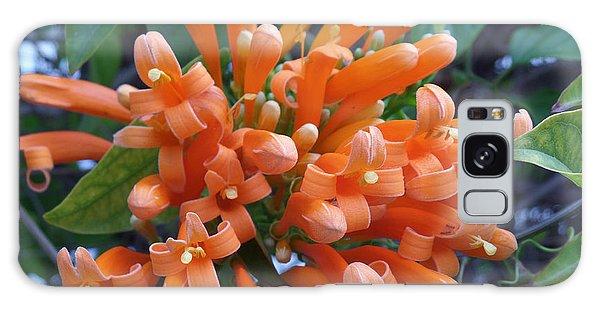 Orange Petals Galaxy Case