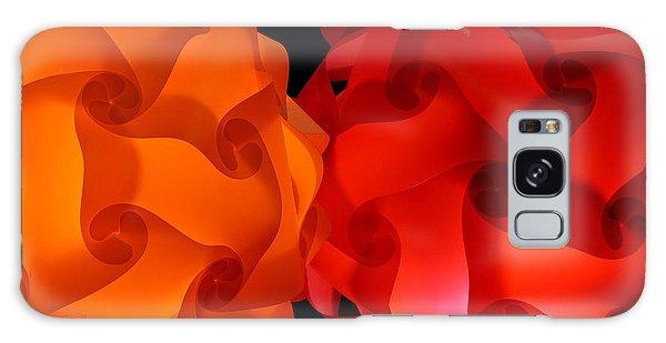 Orange Red-orange Galaxy Case