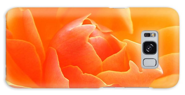 Orange Sherbet Galaxy Case by Deb Halloran