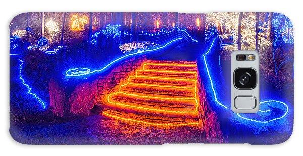 Orange Steps Galaxy Case