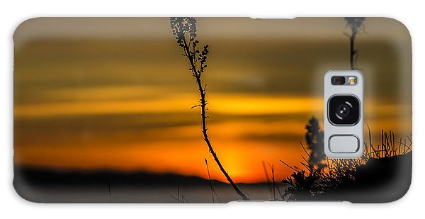 Orange Sunset Galaxy Case by Arlene Sundby