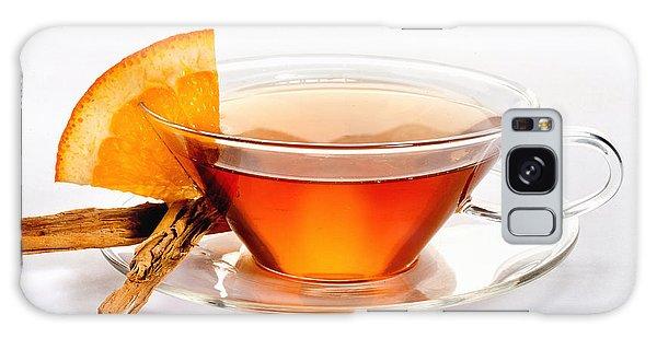 Orange Tea 5528 Galaxy Case