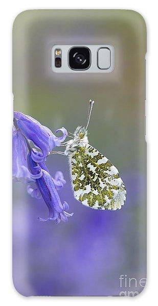 Mottled Galaxy Case - Orange Tip Butterfly by Tim Gainey