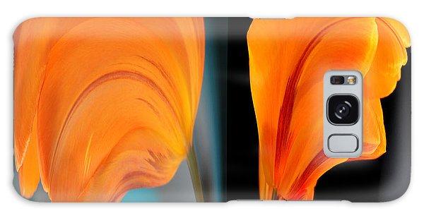 Orange Tulip Fellows Galaxy Case