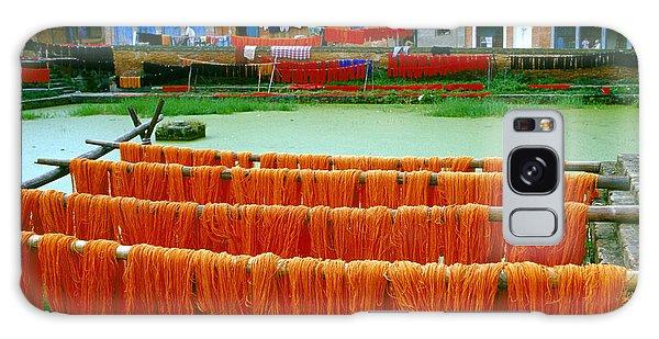 Orange Yarn Galaxy Case