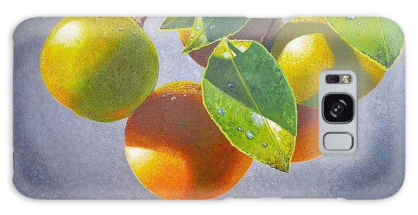 Oranges Galaxy Case
