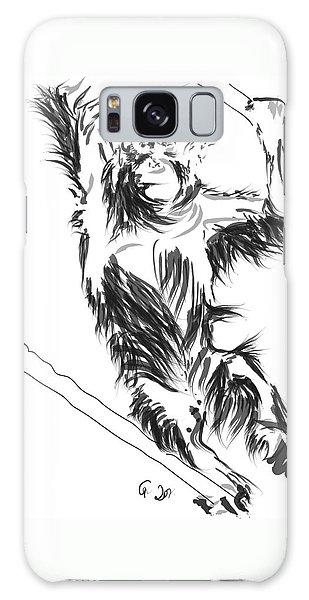 Orangutan 3 Galaxy Case