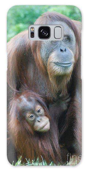 Orangutan Galaxy Case by DejaVu Designs
