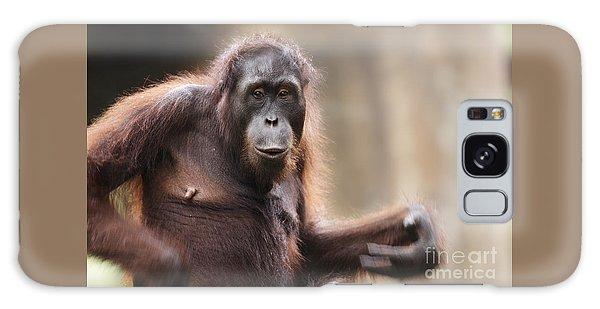Orangutan Galaxy Case by Richard Garvey-Williams