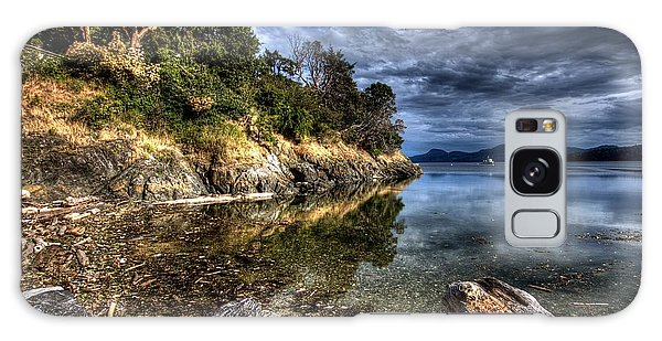 Orcas Island Waterfront Galaxy Case