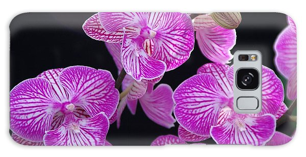 Orchid 1 Galaxy Case by Sheila Byers