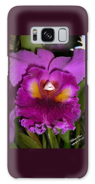 Orchid Flames Galaxy Case