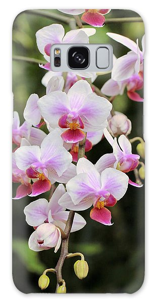 Orchid Cascade Galaxy Case