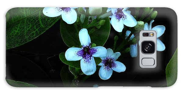 Orchid Glow Galaxy Case