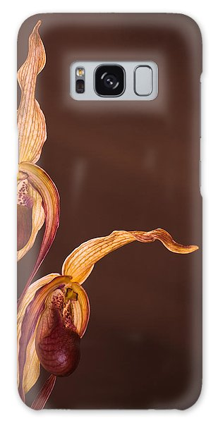 Orchid Greeting Galaxy Case