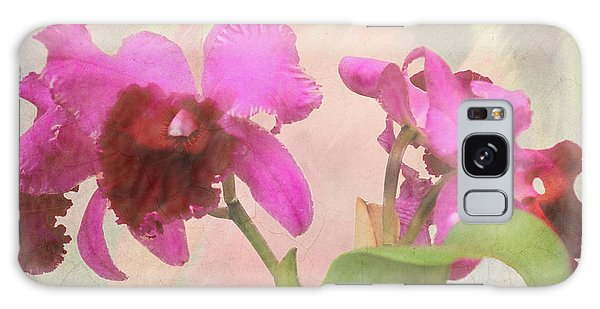 Orchid In Hot Pink Galaxy Case