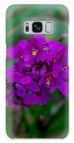 Orchid In Motion Galaxy Case