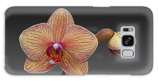 orchid open and closed flower Phalaenopsis Galaxy Case