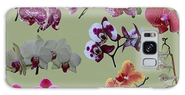Orchid Splash Galaxy Case