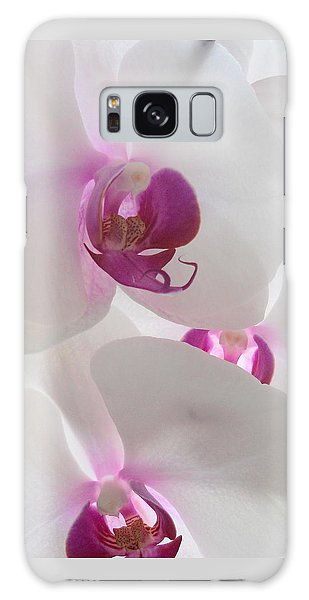Galaxy Case - Orchid Trio by Kathy Spall