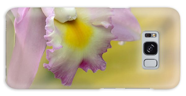 Orchid Whisper Galaxy Case