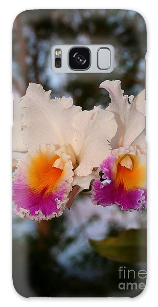 Orchid Elsie Sloan Galaxy Case by The Art of Alice Terrill