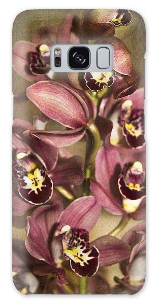 Orchids - Cymbidium  Galaxy Case by Kerri Ligatich