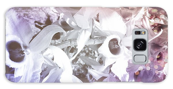 Orchids In Fantasy Colors Galaxy Case