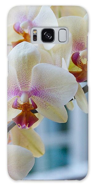 Orchids In The Morning Light Galaxy Case