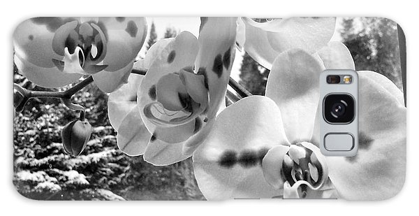 Orchids In Winter Galaxy Case