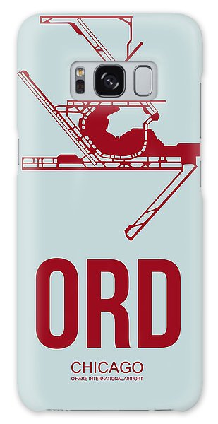 Grant Park Galaxy Case - Ord Chicago Airport Poster 3 by Naxart Studio