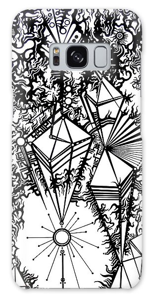 Order And Chaos Galaxy Case by Devin  Cogger